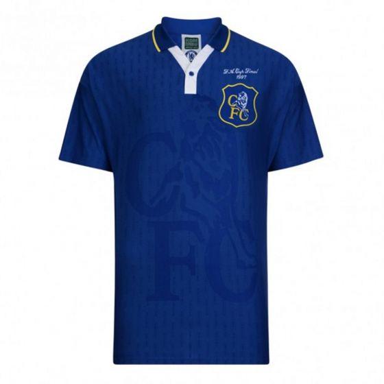 Chelsea 1997 FA Cup Final Home Shirt