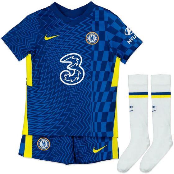Chelsea Kids Home Kit 2021/22