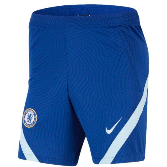 Chelsea blue strike training shorts 20/21