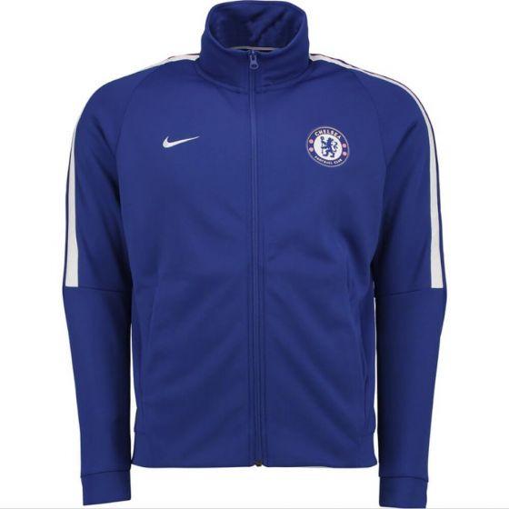 Chelsea Authentic Track Jacket 2017/18 (Blue)