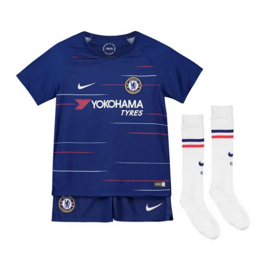 Chelsea Home Kit 2018/19 (Kids)