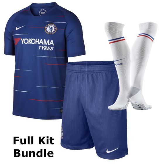 Chelsea kids home kit bundle 2018/19