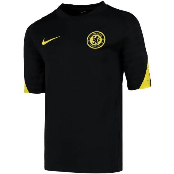 Chelsea Kids Black Strike Training Jersey 2021/22