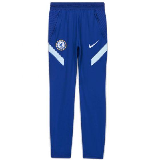 Chelsea junior blue strike training pants 20/21
