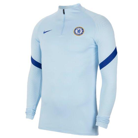 Chelsea light blue strike drill top 20/21