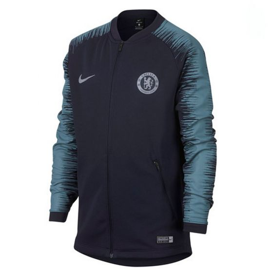 Chelsea Nike Navy Anthem Jacket 2018/19 (Kids)