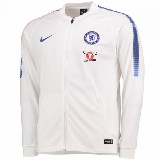 Chelsea Squad Track Jacket 2017/18 (White)