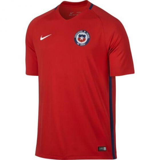 Chile Kids Home Football Shirt 2016/17