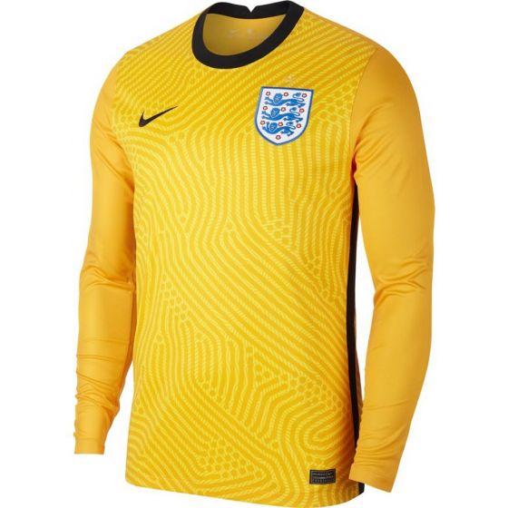 England Kids Yellow Goalkeeper Shirt 2020/21