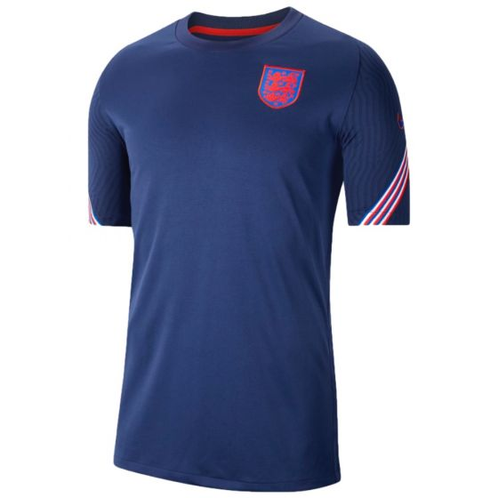 England Euro 2020 navy strike training jersey