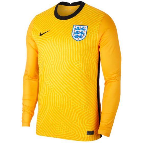 England 20/21 yellow goalkeeper shirt