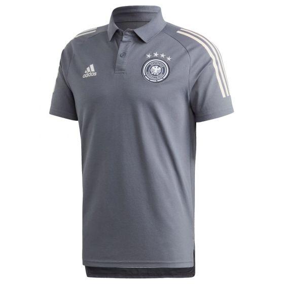 Germany Grey Polo Shirt 2020/21