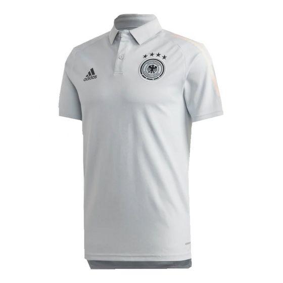 Germany Light Grey Polo Shirt 2020/21
