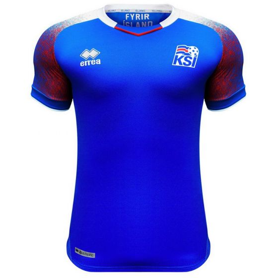 Iceland Errea Home Shirt 2018/19 (Kids)