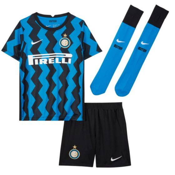 Inter Milan Kids Home Kit 2020/21