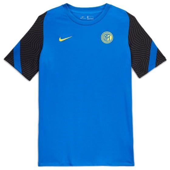 Inter Milan blue strike training jersey 20/21