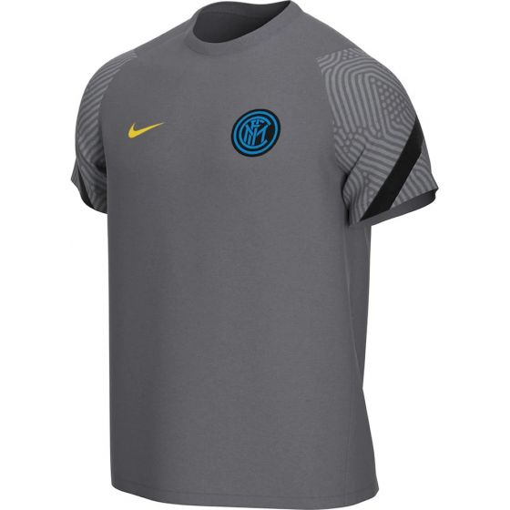 Inter Milan Kids Grey Strike Training Jersey 2020/21