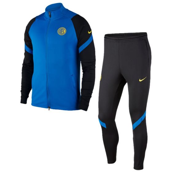 Inter Milan junior strike tracksuit 20/21 (blue)