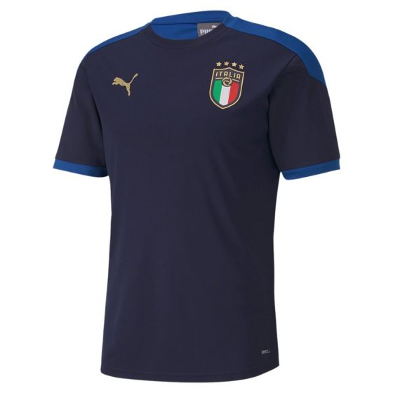 Italy Navy Training Jersey 2020/21