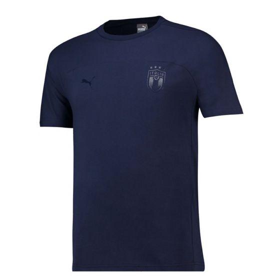 Italy Puma Navy Training T-shirt 2018/19 (Adults)