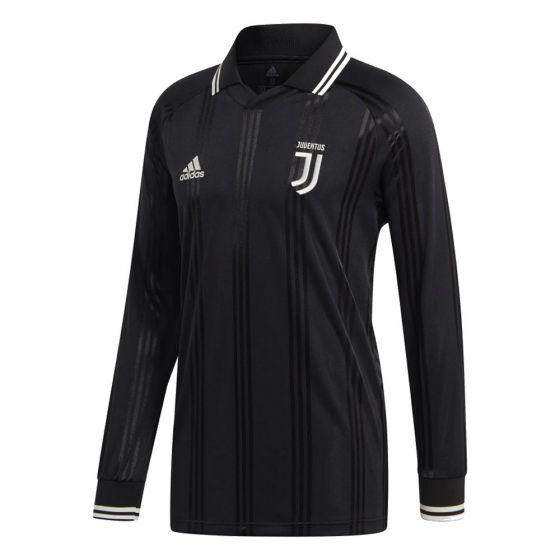 Juventus Black Icons Long Sleeve Top 2019/20