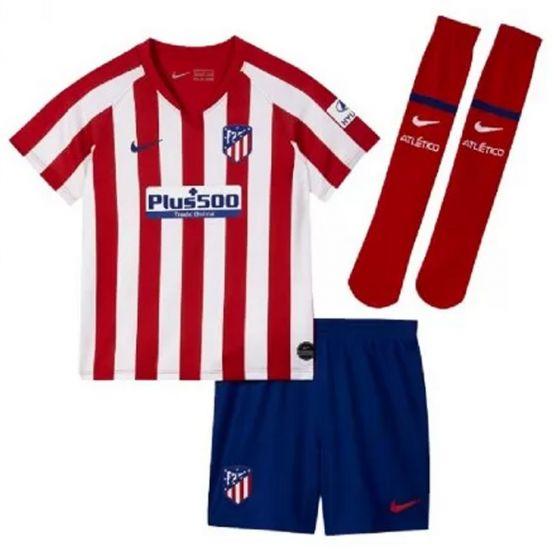 Atletico Madrid Little Boys Home Kit 2019/20
