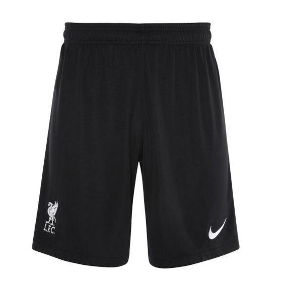 Liverpool Kids Home Goalkeeper Shorts 2020/21