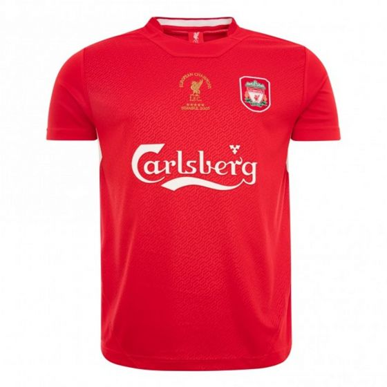 Liverpool 2005 Istanbul Home Shirt