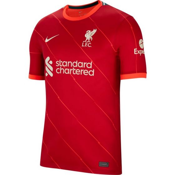 Liverpool Home Soccer Jersey 2021/22 Front View
