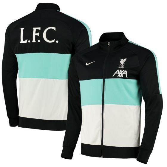 Liverpool 20/21 black track jacket