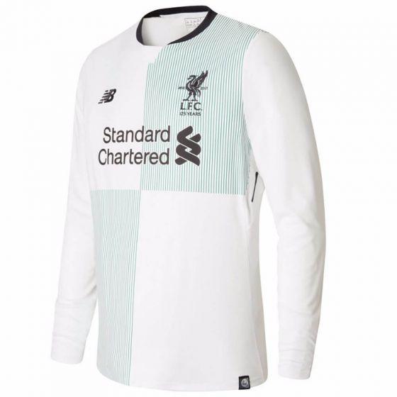 Liverpool Kids Long-Sleeve Away Shirt 2017/18