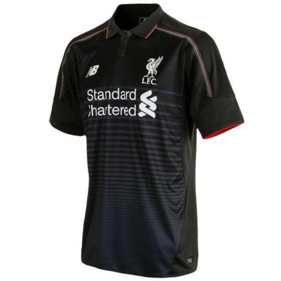 Liverpool Kids Third Jersey 15/16