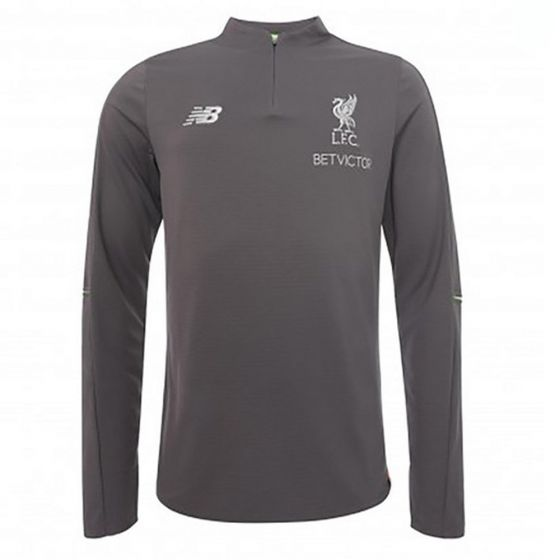 Liverpool New Balance Grey Mid-Layer Top 2018/19 (Adults)