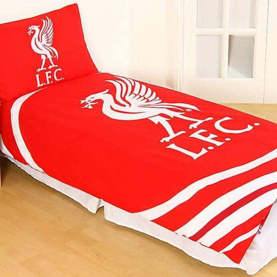 Liverpool Reversible Pulse Quilt Cover