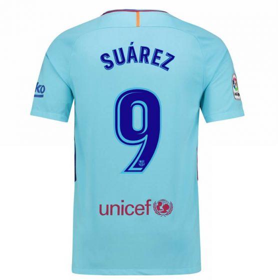 Luis Suárez Barcelona Away Shirt 2017/18