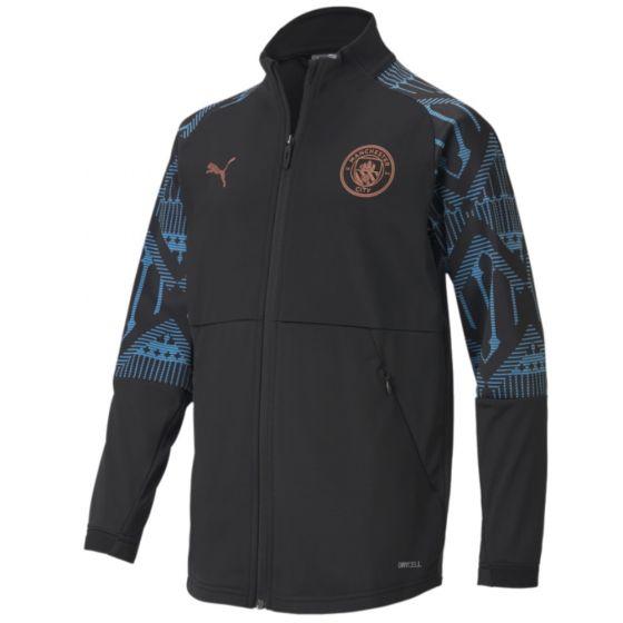 Manchester City 20/21 black stadium jacket