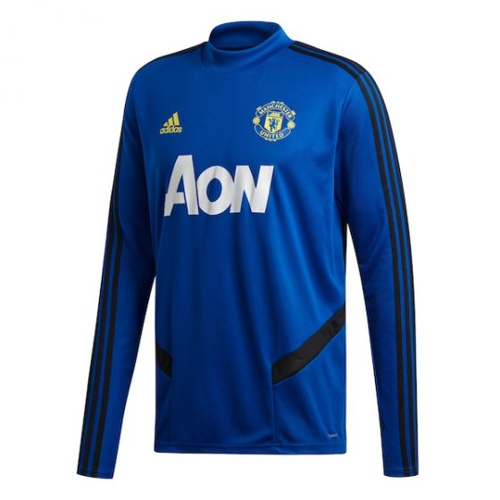Manchester United Blue Training Top 2019/20