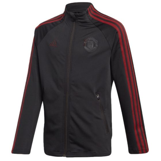 Man Utd 20/21 black anthem jacket