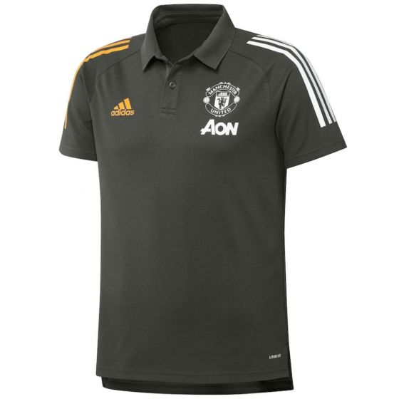 Manchester United 20/21 polo shirt (Green)