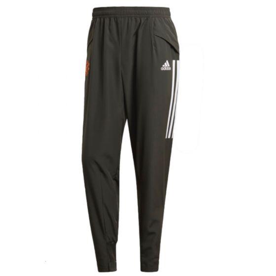 Man Utd 20.21 Adidas presentation pants (Green)