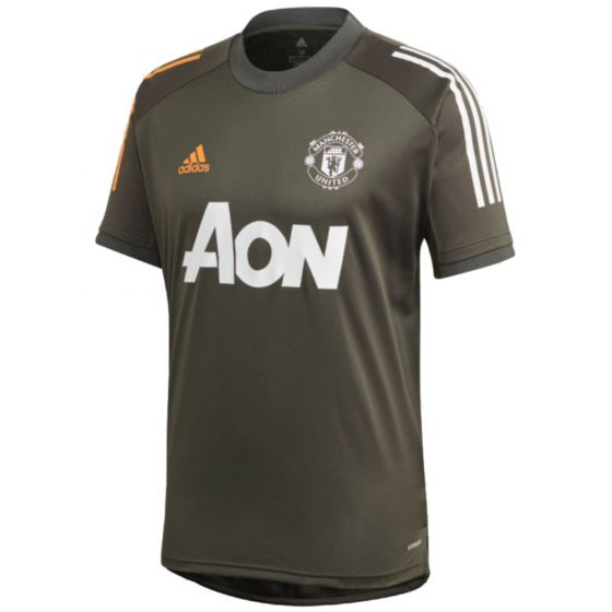 Manchester United 20/21 green training jersey