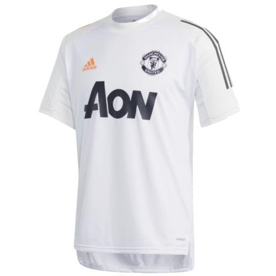 Man Utd white training jersey 20/21