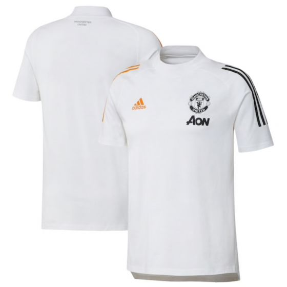Man Utd white 20/21 t-shirt