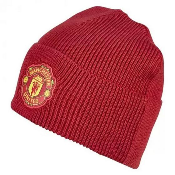 Manchester United Red Woolie Hat 2020/21