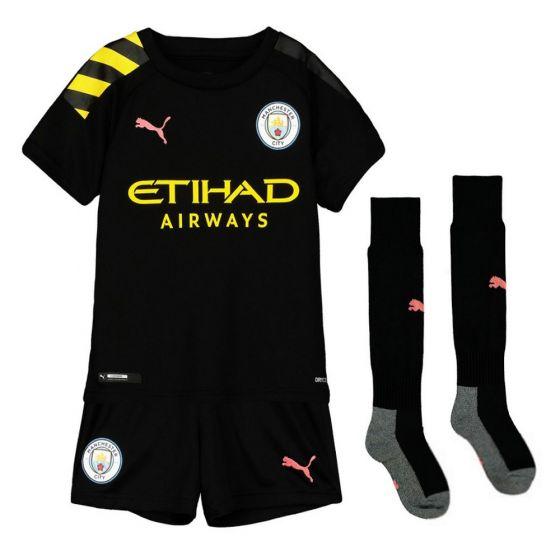 Manchester City Kids Away Kit 2019/20