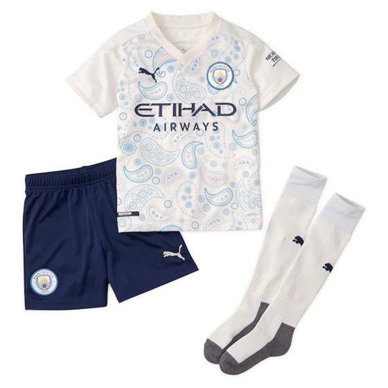 Manchester City Kids Third Kit 2020/21