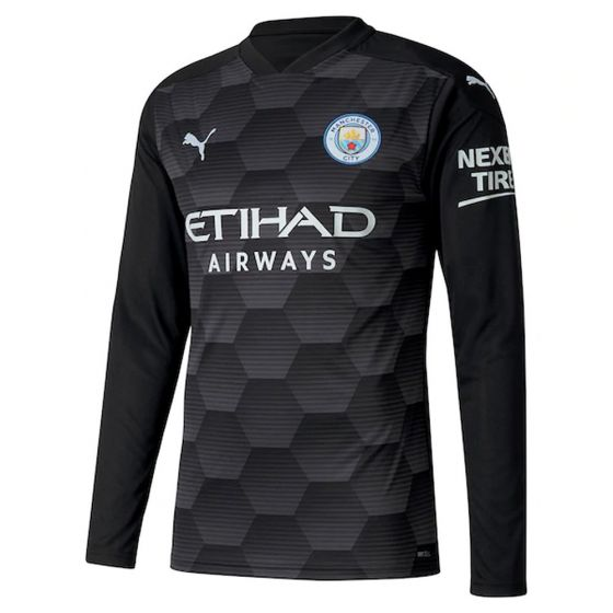 Manchester City Kids Home Goalkeeper Shirt 2020/21