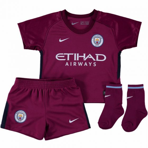 Manchester City Baby Away Kit 2017/18