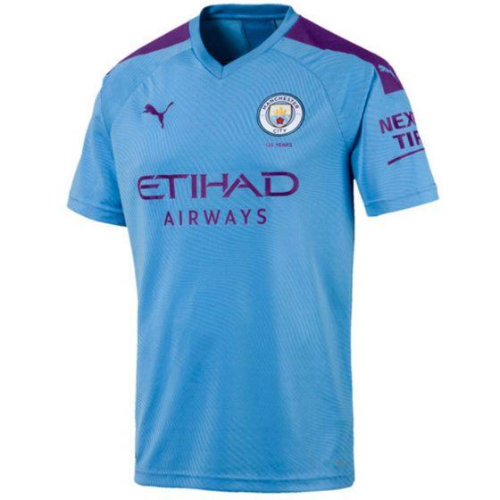 Manchester City Home Football Shirt 2019/20