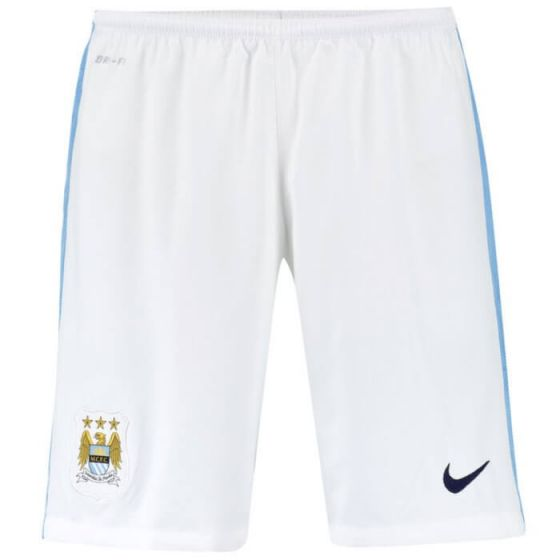 Manchester City Home Shorts 15/16